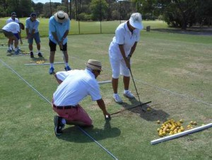 Collier Park Golf Clinic April 2015